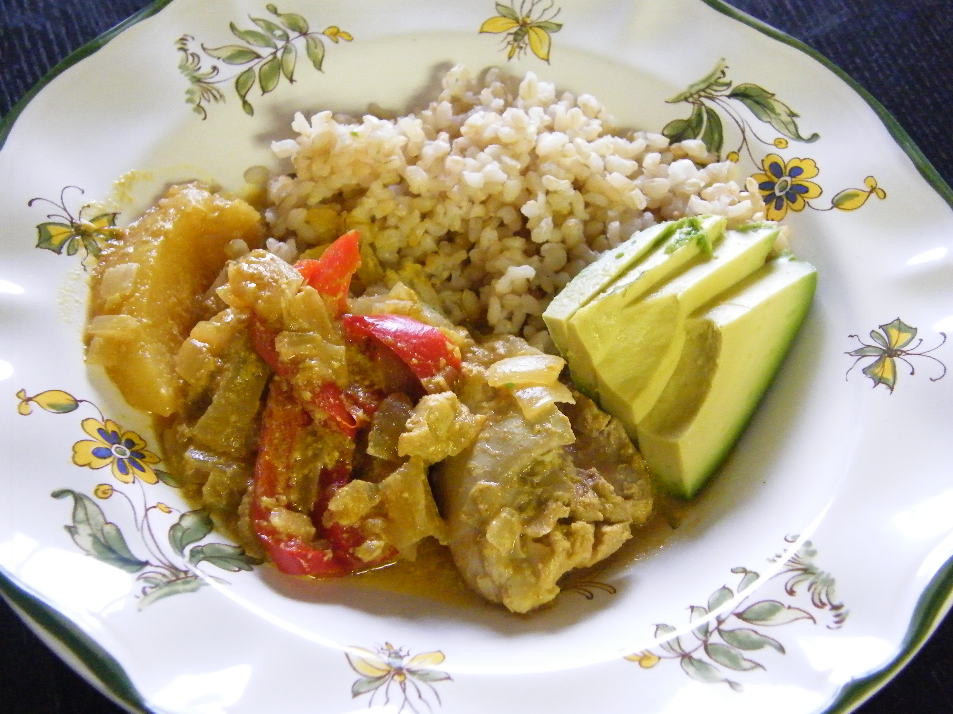 curry-chicken-with-apples-and-sweet-peppers