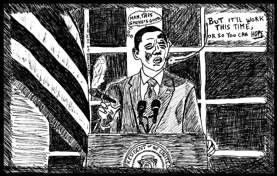 buffett rule political cartoon president obama editorial comic strip caricature by laughzilla for the daily dose