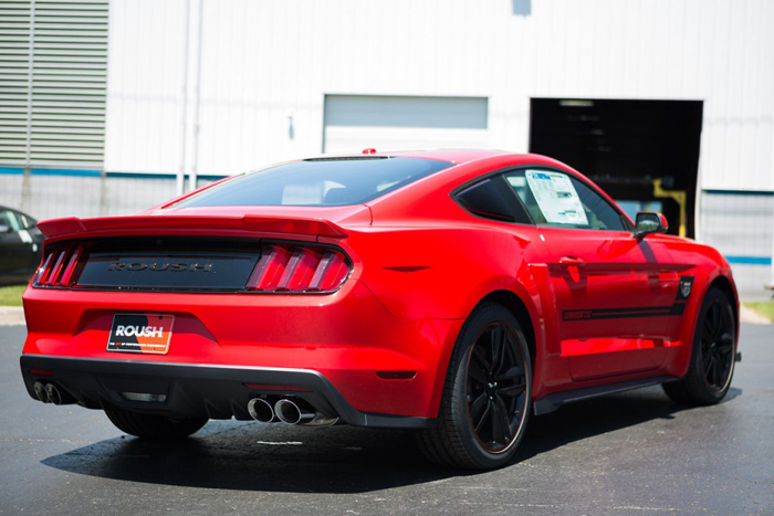 the roush warrior mustang