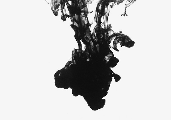 Just Pour Away Ink-Diluted Water