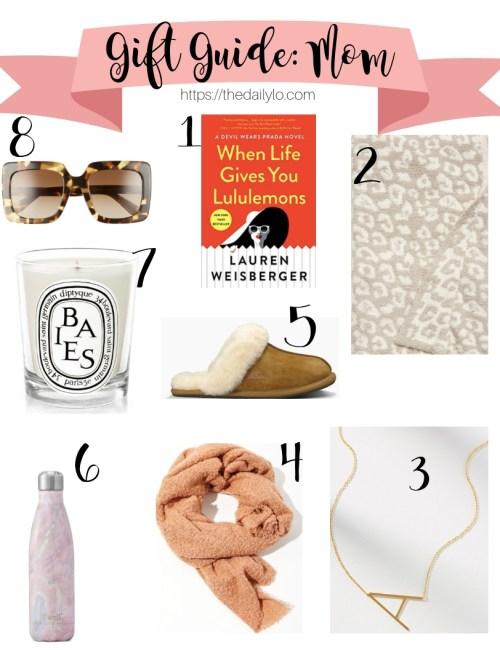 Gift Guide: Mom