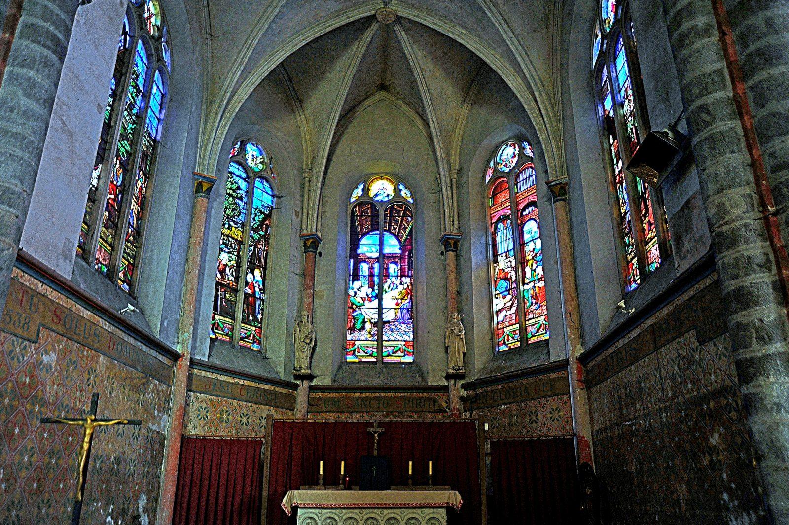 Autel - Eglise de Faremoutiers