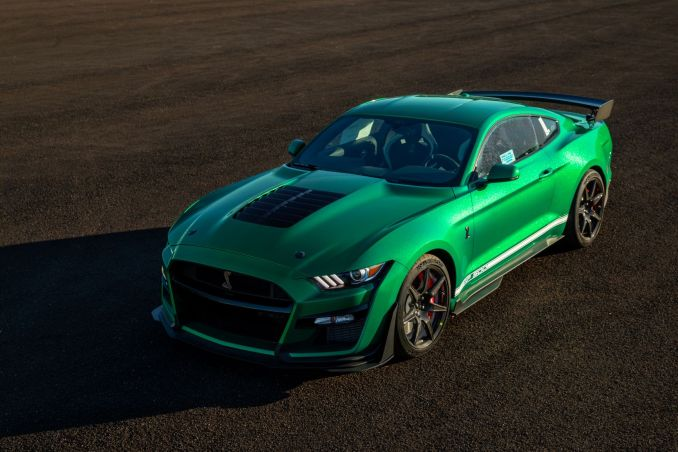 Jackson green 2020 Shelby GT500
