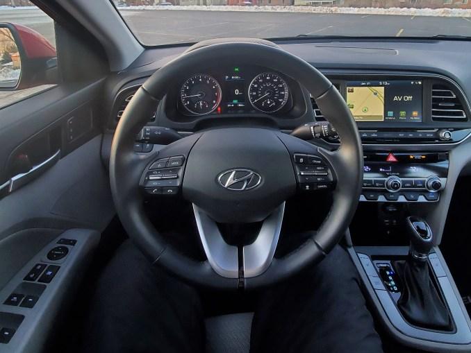 2020 Hyundai Elantra Steering Wheel