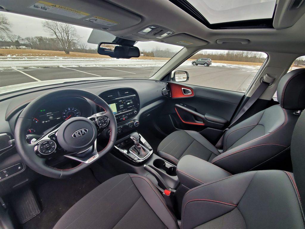 2020 Kia Soul GT-Line Turbo Interior Front