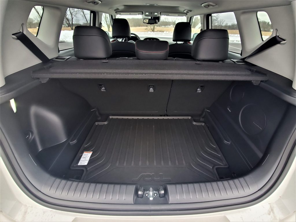 2020 Kia Soul GT-Line Turbo Trunk