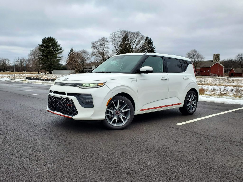 2020 Kia Soul GT-Line Turbo White Front Left