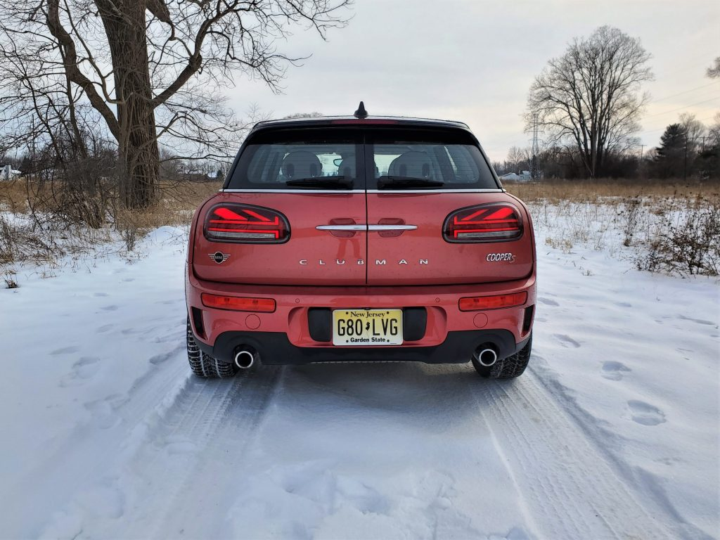 2020 Mini Cooper S Clubman Red Rear