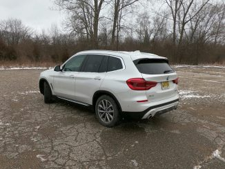 2019 BMW X3 xDrive30i White Driver Rear