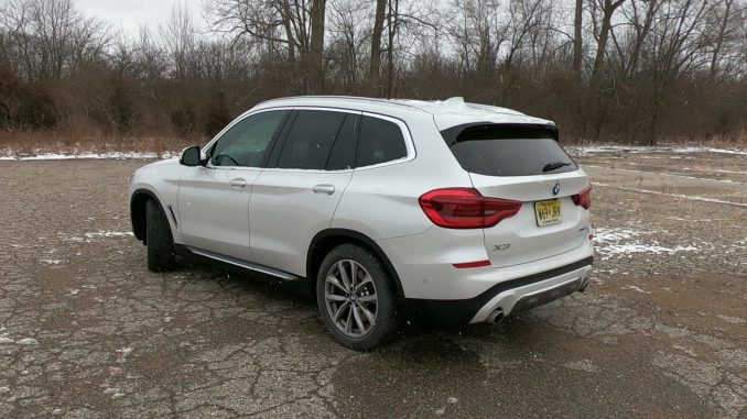 2019 BMW X3 xDrive30i White Driver Rear