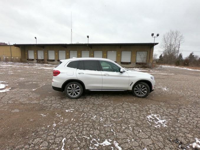 2019 BMW X3 xDrive30i White Passenger Side