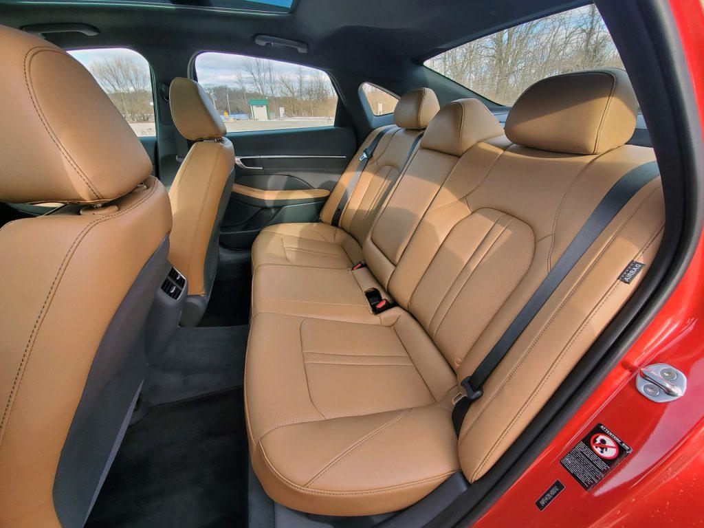 2020 Hyundai Sonata Back Seat