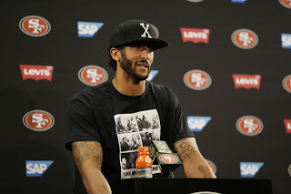 ABC News: World News Tonight-Colin Kaepernick Refuses to Stand During National Anthem: Opportunism at it's Worst