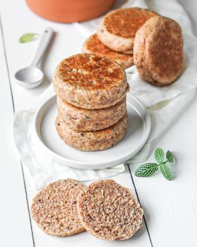 muffins anglais semi-complets aux graines