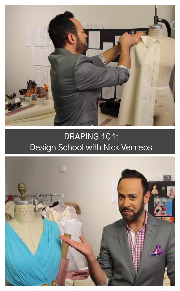 Draping 101 with Nick Verreos
