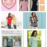 Top Women's T-shirt Patterns