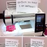 Sewing Machine Shaming