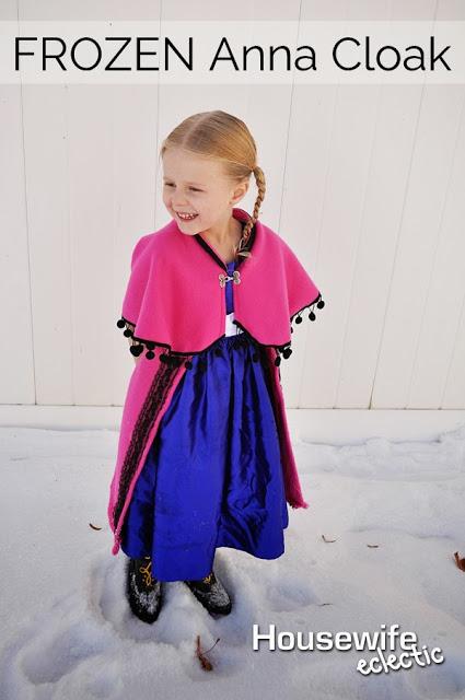 Easy Anna Frozen Cloak Tutorial