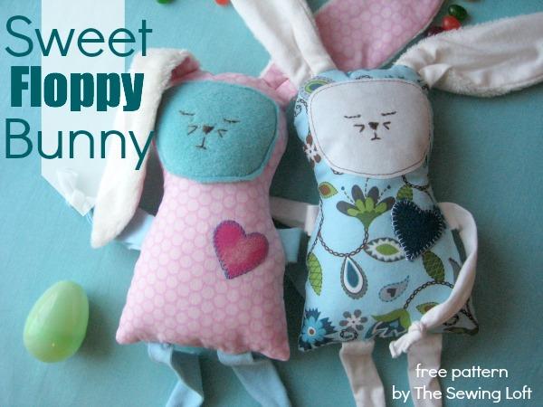 Free Floppy Bunny Pattern