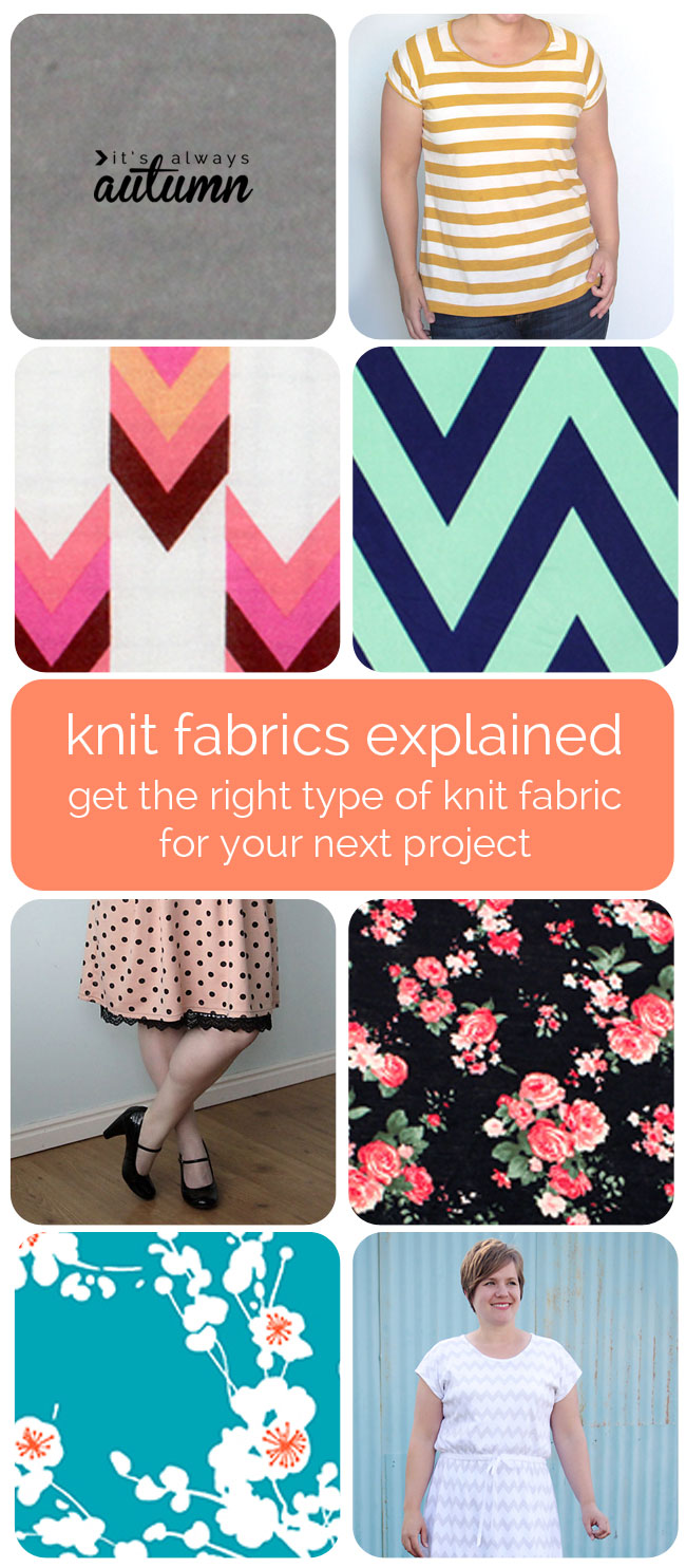 Knit Fabrics Explained