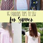 Tops To Sew For Summer