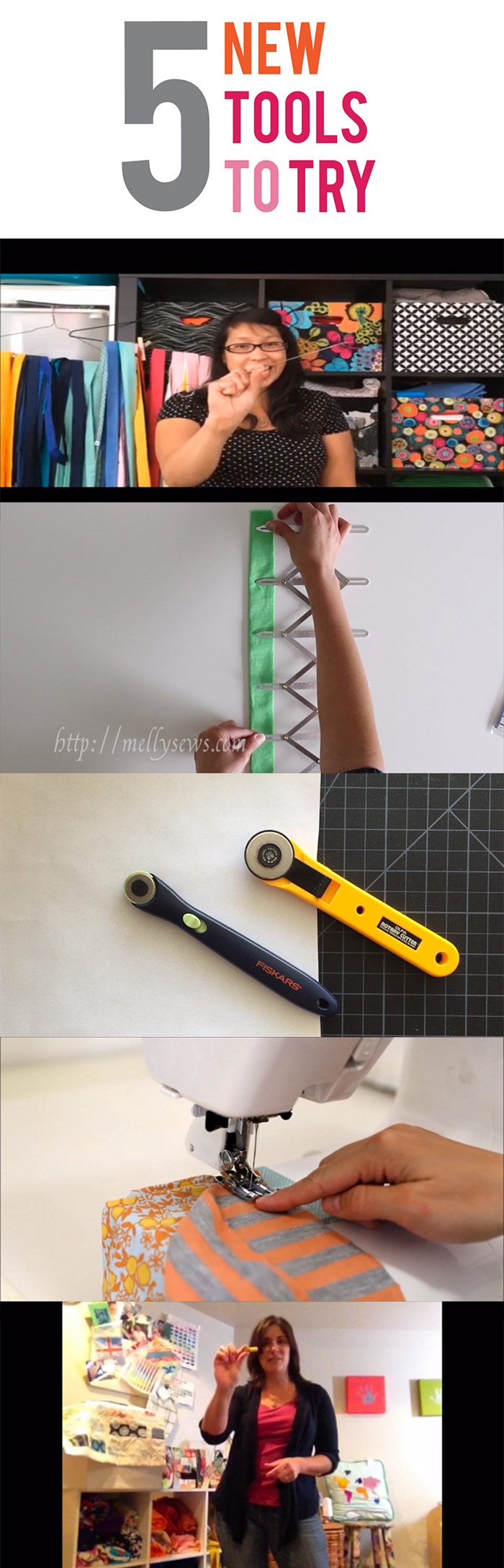 5 new sewing tools to try! (unless you've already tried all of these?)