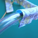 How to Easily Turn a Tube of Fabric