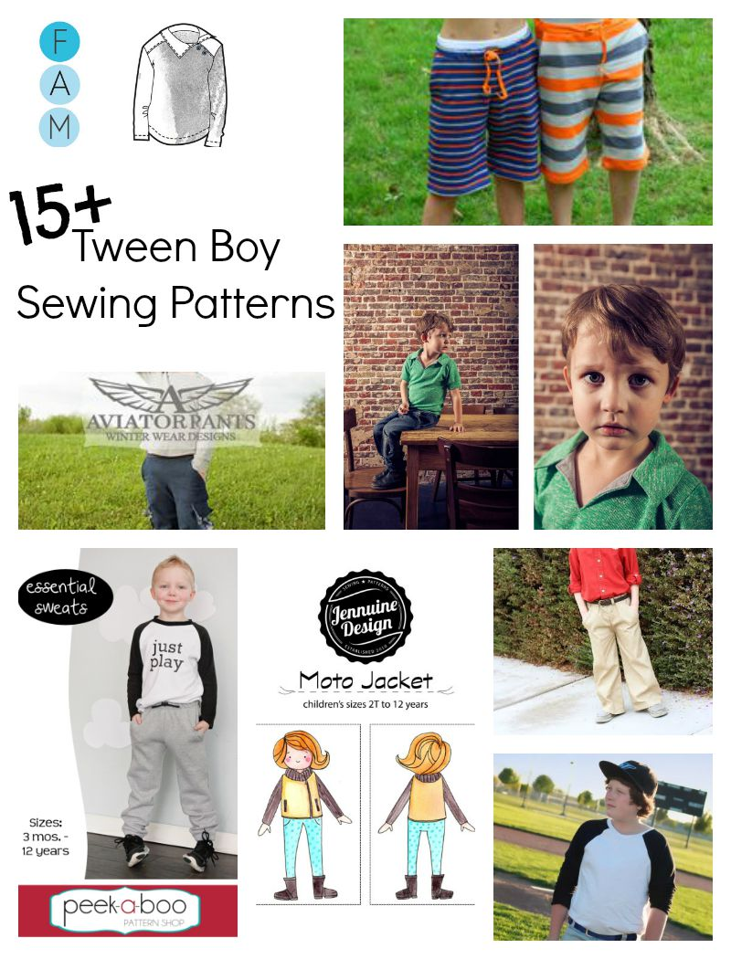 tweenboypatterns