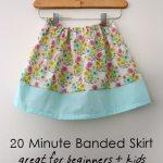 20 Minute Skirt Tutorial