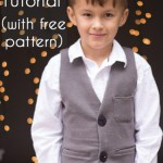 Boys Vest Pattern