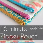 Sew a Zipper Pouch Tutorial