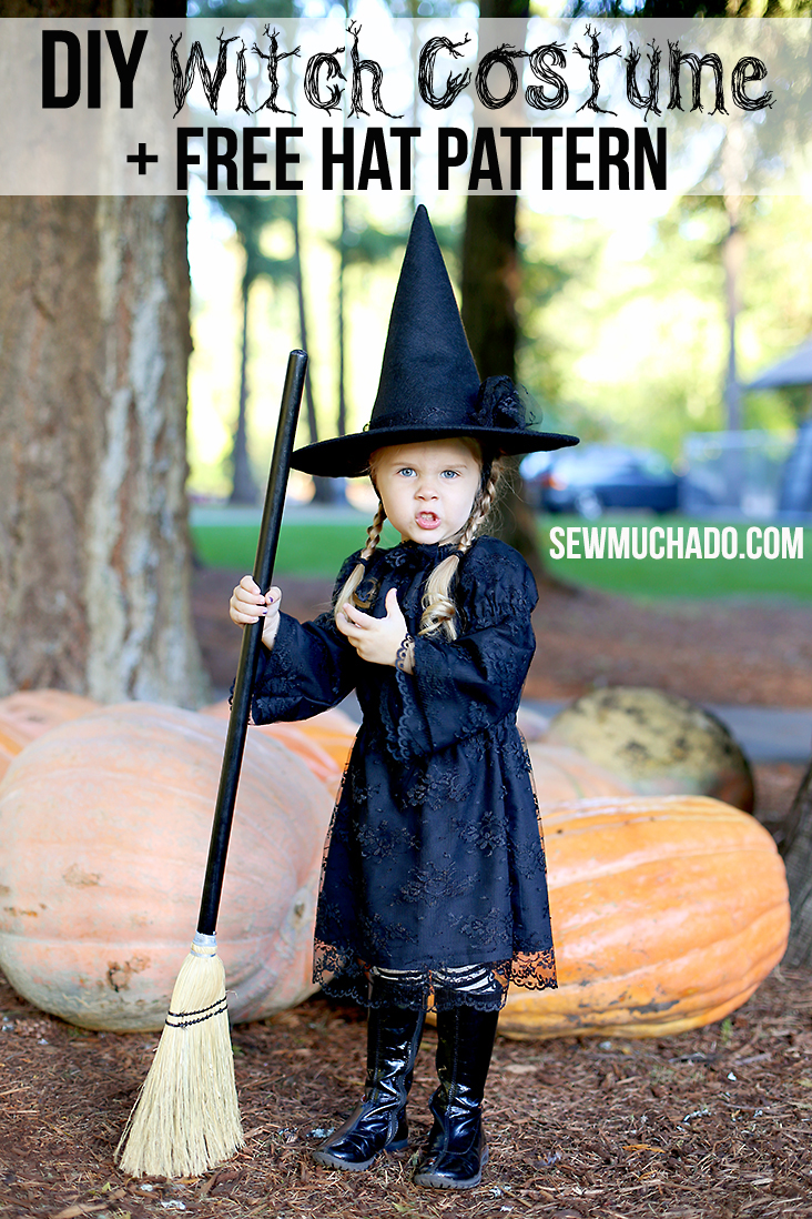free witch hat pattern