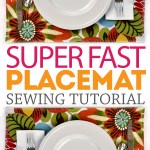 Easy Placemats for the holidays