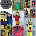 Easy Superhero Costumes
