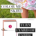 Coloring Skirt DIY How To