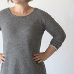 Easy Long Sleeve Sweater Dress
