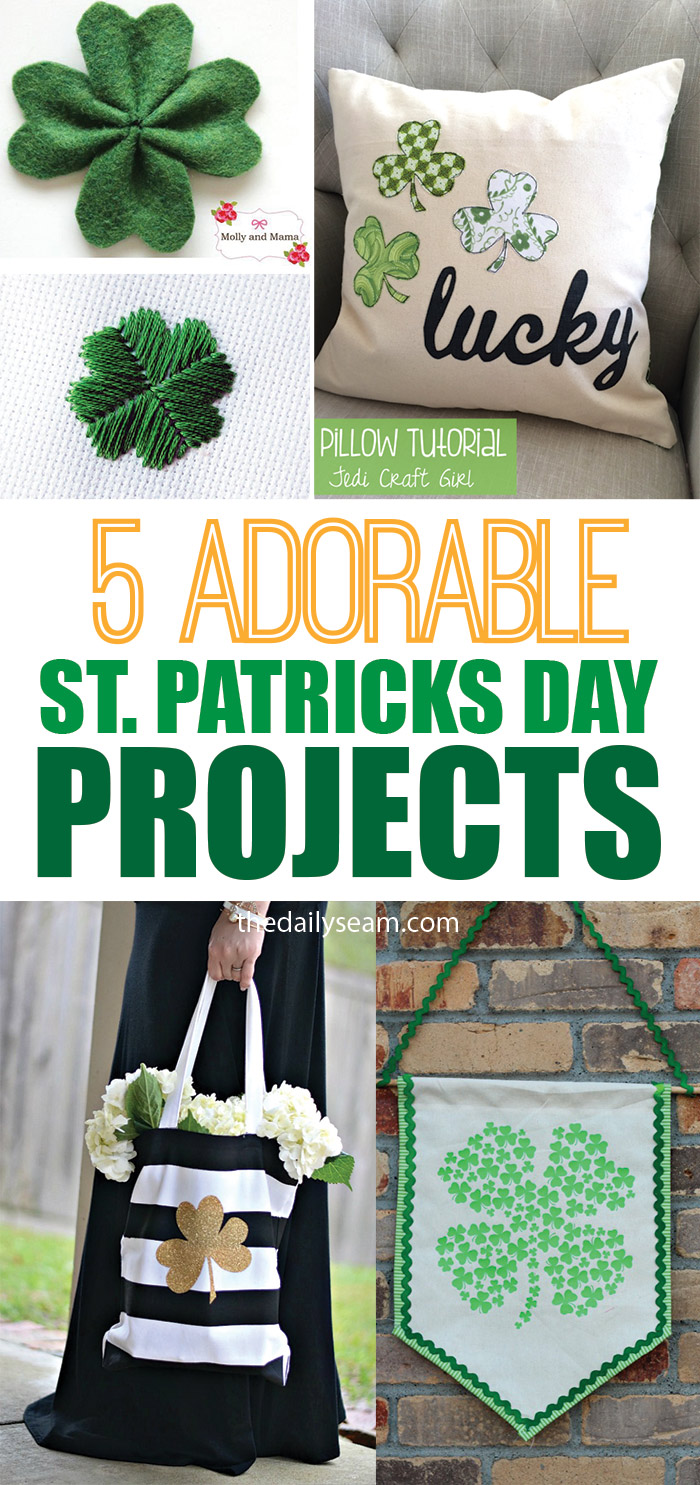 5 Adorable (and QUICK!) St. Patrick's Day Projects