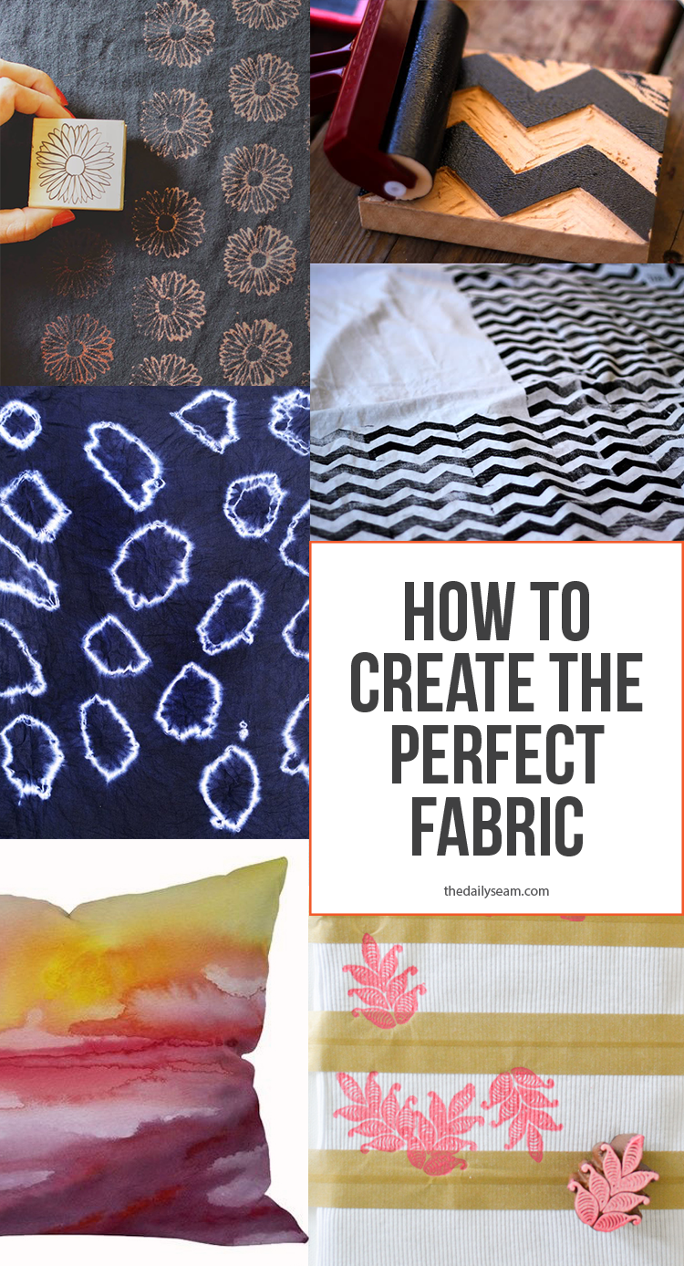 How to create the perfect fabric - when you can't find what you want available!
