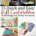 15 Easy DIY Gift Card Holder Tutorials