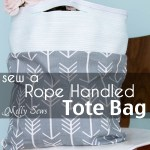 Sew Rope for a Tote Bag