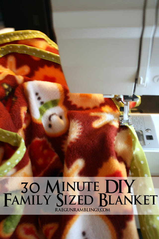 We love these. Great Family sized blanket tutorial. Makes awesome gifts