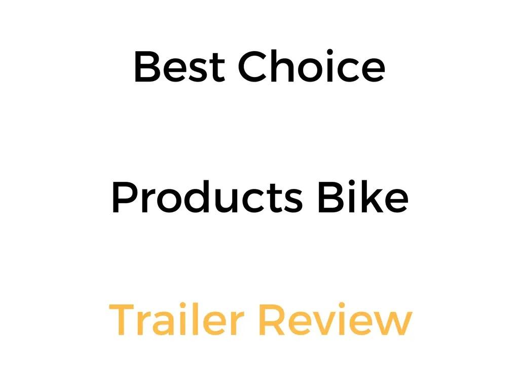 Best Choice Products Dog Bike Trailer & Stroller/Jogger