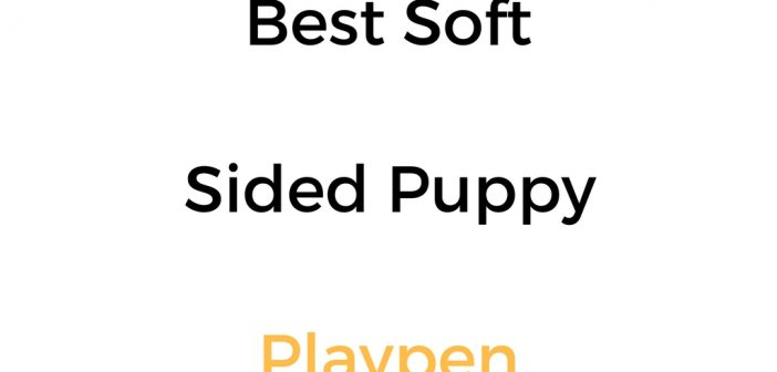 Best Soft Sided Puppy Playpen: Reviews & Buyer's Guide