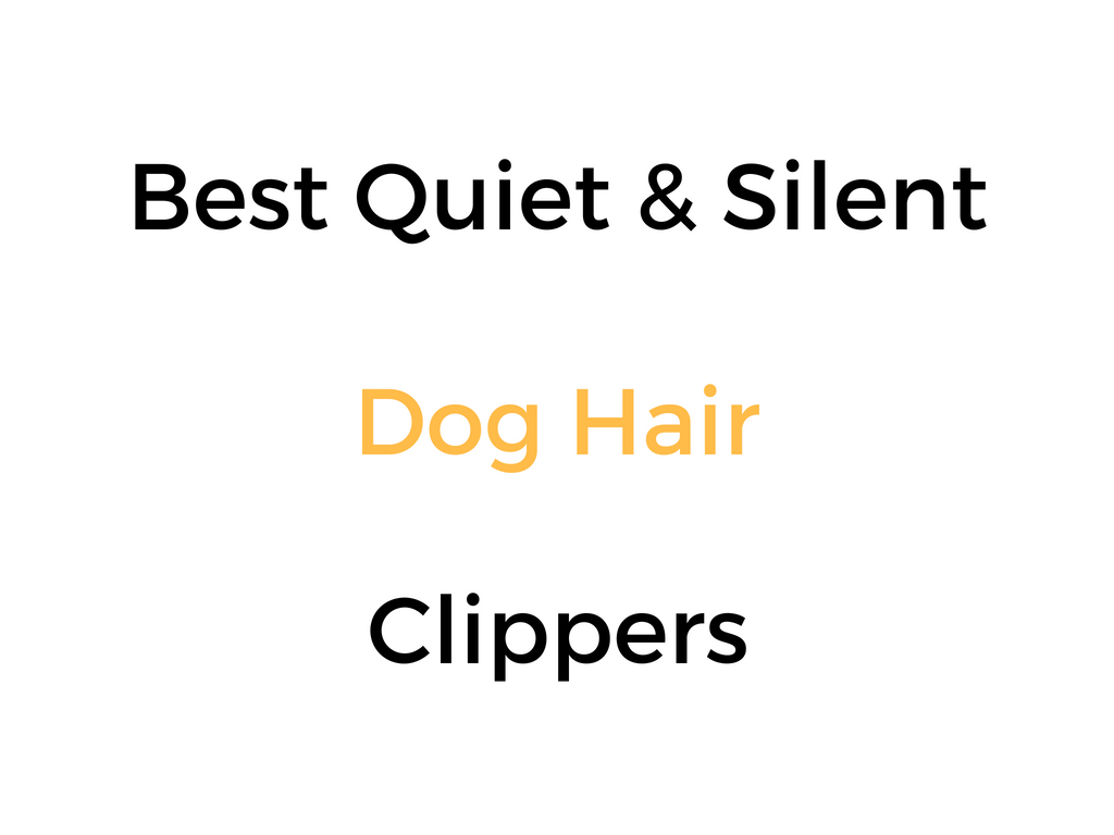 Best Quiet/Silent Dog Hair Clippers