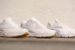 timeless design 8457c 32edb Nike  White   Gum  pack (Air Max 1, Air Max 90,