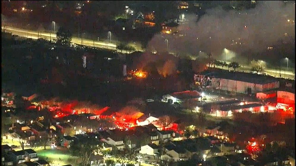 Massive Explosion Rocks Houston, Shakes Buildings 3