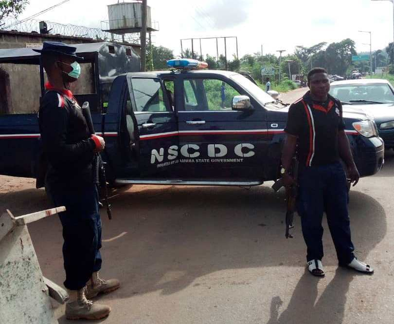 NSCDC arrests four with 90,000 litres of adulterated fuel in Anambra