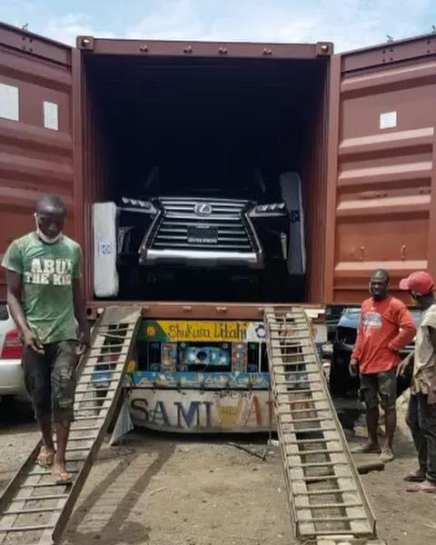 Photo News: Singer Flavour lands N50m Lexus LX570 beast 1