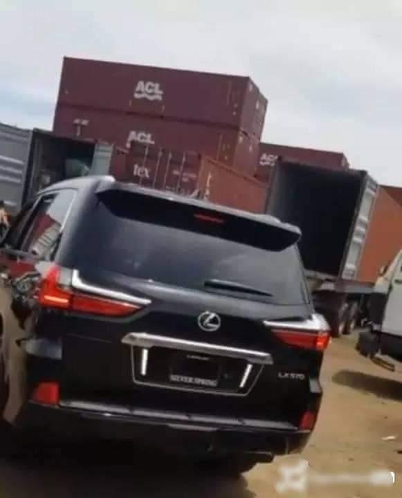 Photo News: Singer Flavour lands N50m Lexus LX570 beast 2