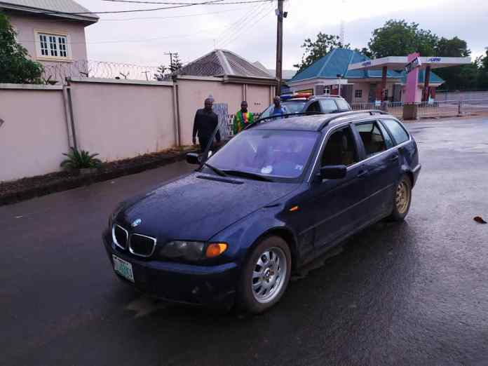 Anambra Police recovers suspected stolen vehicle [See Photos] 2